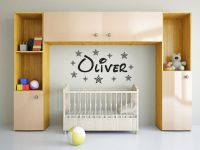PERSONALISED Name Wall Art Sticker Wall Sticker Decal ...